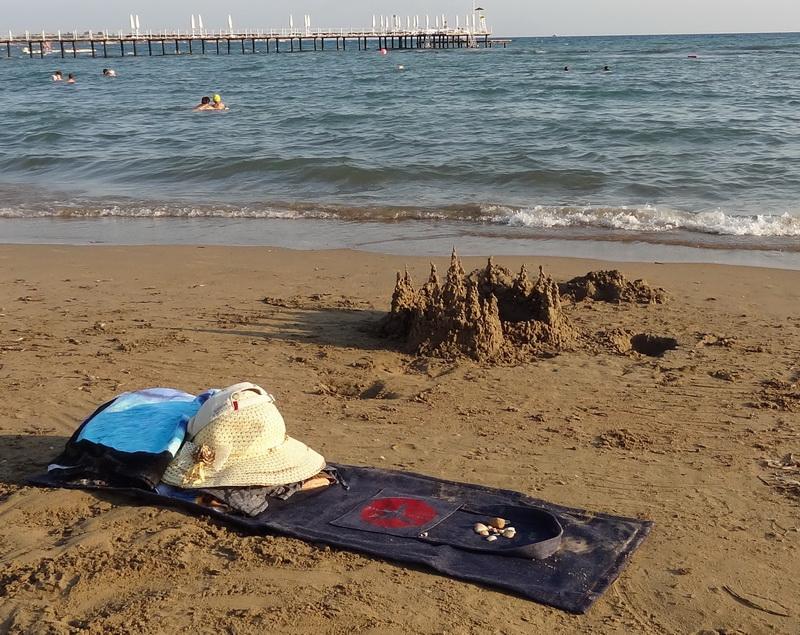 шьем пляжную сумку от ведущих.